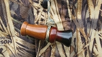 The Woodie Smoker Sapele Wood Duck Call