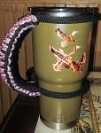 Insulated Cup Paracord handle